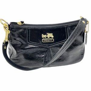 COACH Est. 1941 Gold Hardware Signature Hand Bag